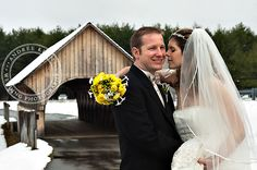 Winter  Wedding at The Bethel Inn Resort Photography by Andree Keehn