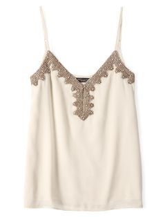 cream treasure tank. pretty.