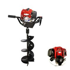 One Man Type Earth Auger Powered - Please visit our website at http://www.trimmer.com.tw/ for more information and quotation.