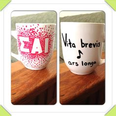 Another SAI mug I made! #SAI #loveandroses #ΣΑΙ