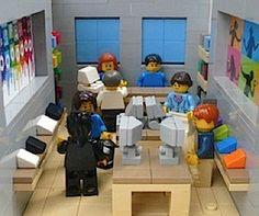 Pretty cool! Lego Apple Store ;-)