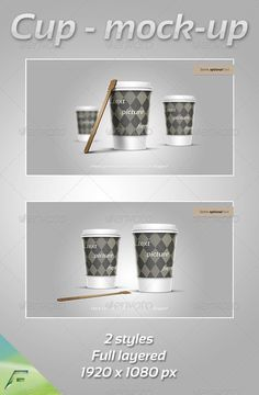 Cup  MockUp — Photoshop PSD #mock-up #design • Available here → https://graphicriver.net/item/cup-mockup/3409988?ref=pxcr