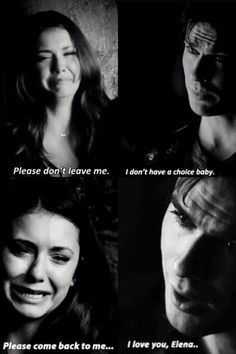 I've always been 110% Stefan and Elena but this scene broke me heart!!