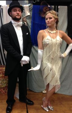Flapper Costumes 1920s Costumes Great Gatsby Prohibition Halloween Costume Ideas Couples  sc 1 st  Pinterest & 1920s Couple costume // Great Gatsby | Random things/cool ideas ...