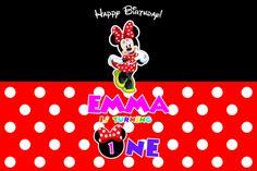 Toile de fond Minnie Mouse, Minnie Dessert fond de Table, Minnie Mouse premier anniversaire fond imprimable par NYCPartyPrintables sur Etsy https://www.etsy.com/be-fr/listing/294776265/toile-de-fond-minnie-mouse-minnie