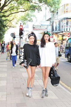 Junh Minhee and Park Sora
