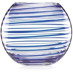 kate spade new york Charlotte Street Collection Rose Bowl Vase ($75) ❤ liked on Polyvore featuring home, home decor, vases, cobalt blue spiral, kate spade home decor, cobalt blue home decor, swirl vase, rose bowl vase and cobalt vase