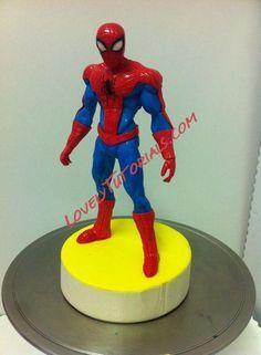 Spiderman figure making tutorial