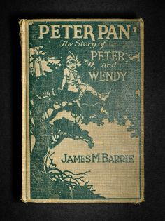 Peter Pan by James M. Barrie. (1904). Who doesn't love a story about a boy who can fly and never grows up?