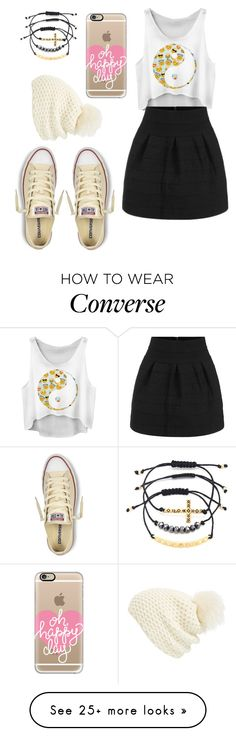 """""""Untitled #585"""" by lexi-riney on Polyvore featuring moda, Converse, Charlotte Russe, Casetify e Phase 3"""