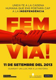 Fem via! #11s2013 #ViaCatalana