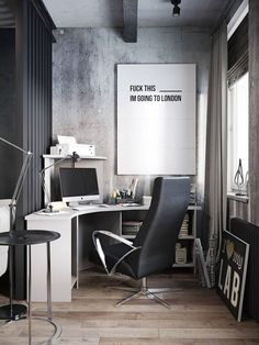 Gorgeous 50+ Fabulous and Simple Home Office Design Ideas for Men https://modernhousemagz.com/50-fabulous-and-simple-home-office-design-ideas-for-men/