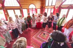 """""""How to facilitate a """"circle"""" in your Red Tent"""" In creating a monthly Red Tent you may like to consider the inclusion of a sharing circle. This is a space where women have an opportunity to share what is arising for them in their lives. You may choose to offer this sharing along a seasonal or lunar theme such as sharing moon prayers... READ MORE: https://redtentmovie.wordpress.com/2015/03/24/how-to-facilitate-a-circle-in-your-red-tent/"""