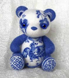 China Pattern Bear - by Lelilio