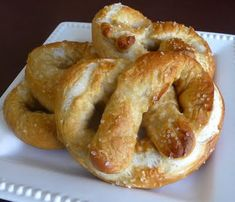 Soft Pretzels... these are so good!