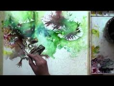 Watercolor with Lian Quan Zhen: Frogs in the Pond Preview - YouTube