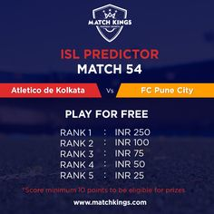 10 Fascinating Indian Super League Predictor images | Indian
