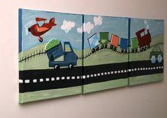 train room decor | Train room decor