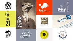 Logotypes créés par Histoires Particulières. Branding, identité.