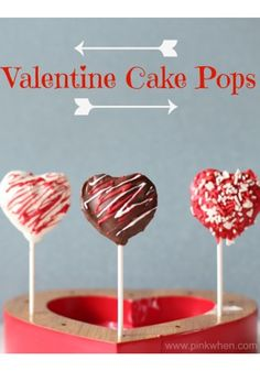Create these Valentine Cake Pops for your classroom party to spread the love!