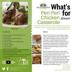 Peri-Peri Chicken Casserole