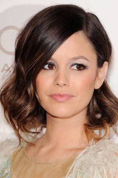 Rachel Bilson looked every inch the movie star at this year's Art Of Elysium Gala. The petite actress pinned her long wavy hair into a faux bob for the ultimate in Hollywood glamour.