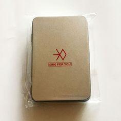 SM TOWN COEX Artium SUM EXO Sing For You Official Sticker Pack