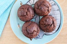 This decadent chocolate muffin recipe is made with nutritious ingredients to make for a healthy breakfast for the family, including the toddlers at your table. Make a batch ahead of time and serve them all week for breakfast or snacks—or even dessert!