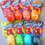 Dye Easter Eggs w/ Kool-Aid