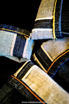 Selvedge denim.  Yes, jeans can have a personality.