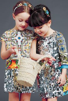 dolce and gabbana winter 2015 child collection 10