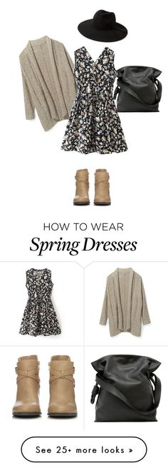 """""""School day"""" by pop-of-color913 on Polyvore featuring moda, Rebecca Minkoff, MANGO, Wallis i Loewe"""