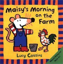 Maisy's Morning on the Farm, by Lucy Cousins, Preschool Children's Storybook - Great for our Farm theme! Pre-K Complete Preschool Curriculum teachers read stories daily during Circle Time and provide children books at the Reading Learning Center. Pinned by Pre-K Complete - follow us on our blog, FB, Twitter, & Google Plus!
