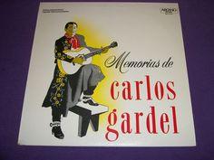 """Memorias de Carlos Gardel - 12"""" Vinyl LP Record - Arcano DKL1-3146 - Terig Tucci"""