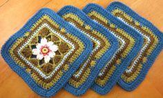 Lily Pond Blanket Block #2