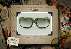 1970's www.ateliereyewear.com #glasses #style #luxury