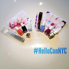 Some awesome nail art kits just arrived from @Sharon Chisholm Art! Big thanks and can't wait to share at #HelloConNYC!