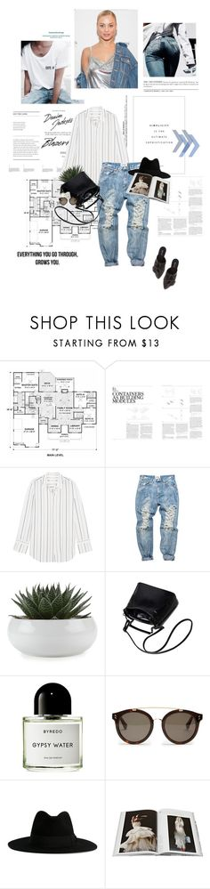 """Everything you go through, grows you."" by sarahstardom ❤ liked on Polyvore featuring GESTALTEN, Equipment, Byredo, STELLA McCARTNEY, Yves Saint Laurent, Abrams and Qupid"