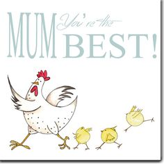 Mum You're the Best Mother's Day Card by TheSkinnyCardCompany