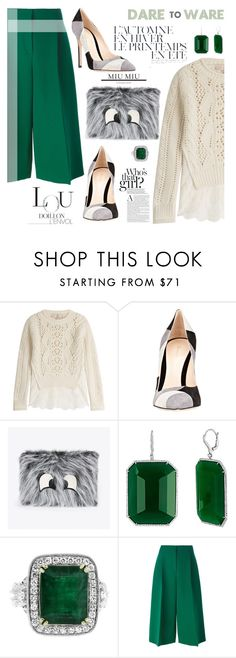 """A woman with good shoes is never ugly :)"" by nata91 ❤ liked on Polyvore featuring Vanessa Bruno, Gianvito Rossi, Valentino and Été Swim"