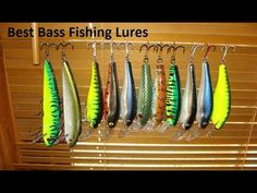 Best Bass Fishing Lures, Best Fishing Rods, Topwater Lures, Fishing Times, Largemouth Bass, Fish Camp, Freshwater Fish, Fishing Equipment, Make And Sell
