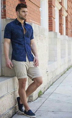 Men's Fashion - Summer Outfit Ideas For Men Looks) – Mens Fashion Summer Outfits, Casual Outfits For Teens, Men With Street Style, Men Street, Stylish Men, Men Casual, Celebridades Fashion, Look Man, Mode Style