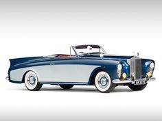 Rolls-Royce Silver Cloud Drophead Coupe 1956