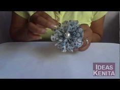 Truco: Como cortar flores de 5 pétalos facilmente. Cut flowers of five petals. - YouTube
