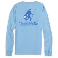 Check out Long Sleeve  Mountain Weekend T-shirt from Southern Tide