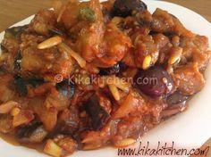 Caponata di melanzane (ricetta siciliana) | Kikakitchen