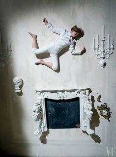 Tim Walker fotografa Emma Watson para a Vanity Fair