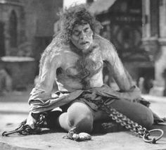 Lon Chaney in The Hunchback of Notre Dame.