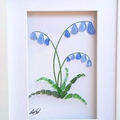 Pictures of sea glass (selection) / Art-o .- Картины из морского стекла (подборка) / Арт-о… Sea glass paintings (selection) / Art objects / SECOND STREET - Sea Glass Crafts, Sea Glass Art, Seashell Crafts, Stained Glass Art, Fused Glass, Sea Crafts, Stone Crafts, Rock Crafts, Plage Art Mural