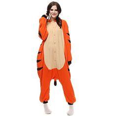 SHDIBA One Piece Cosplay Adult Pajamas  Unisex Animal Onesie Costume Set for ChrismasPartyOccasions Medium